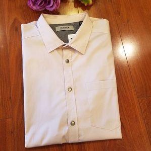 Reaction Kenneth Cole Rose Collared Shirt Medium